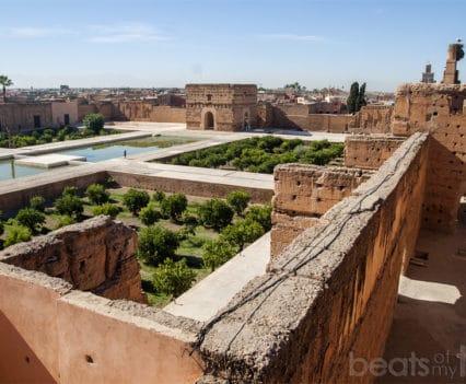 Marrakech Palacio el-Badi que ver un dia escapada Marrakech
