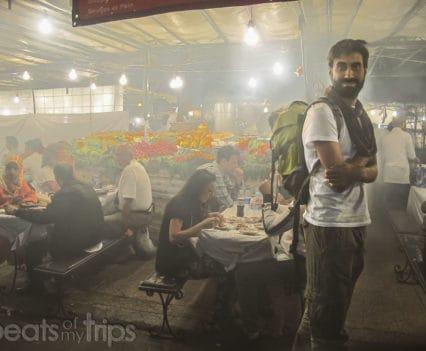 Que ver Marrakech comer Plaza Jamaa el Fna viaje Marruecos
