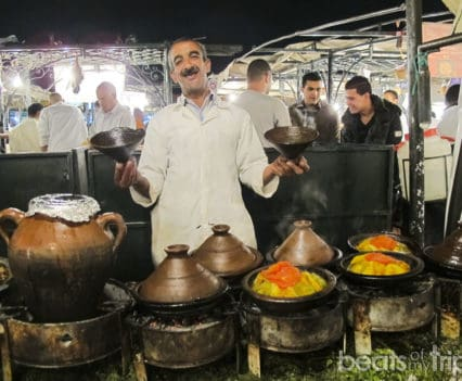 Que ver Marrakech comer tajin Plaza Jamaa el Fna viaje Marruecos