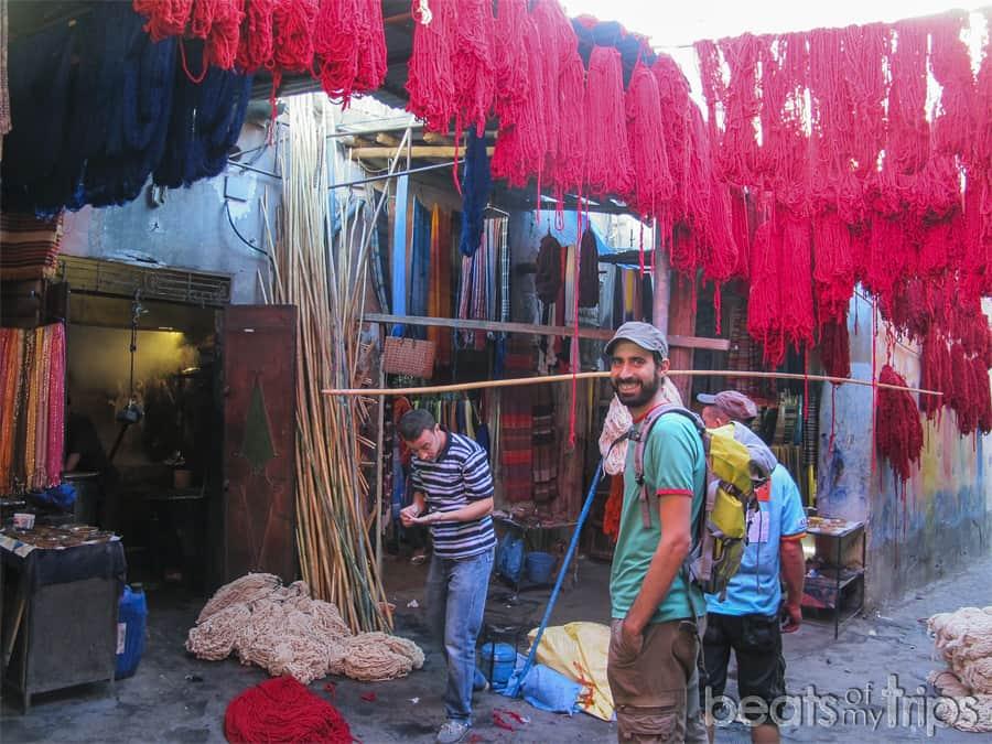 Zoco tintoreros Marrakech medina mercados que ver Marrakech