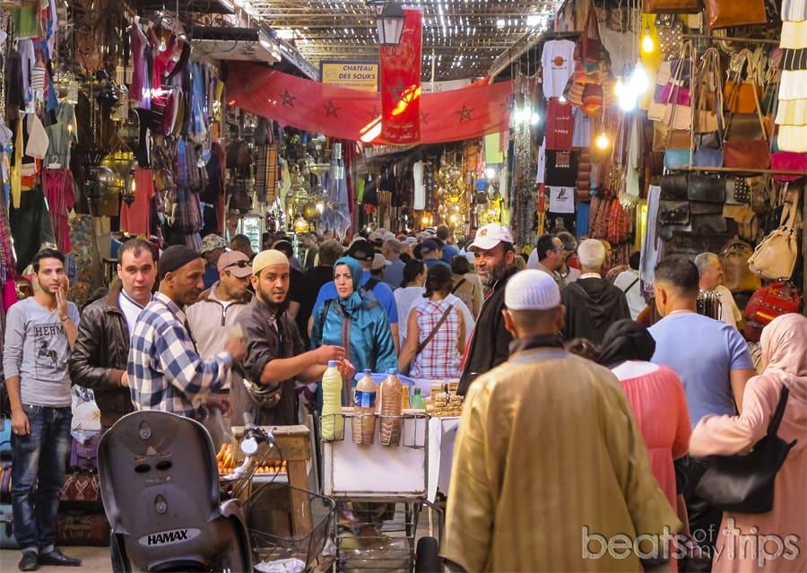 Marruecos ciudades Marrakech Zoco Marrakesh mercado Medina que ver dos dias