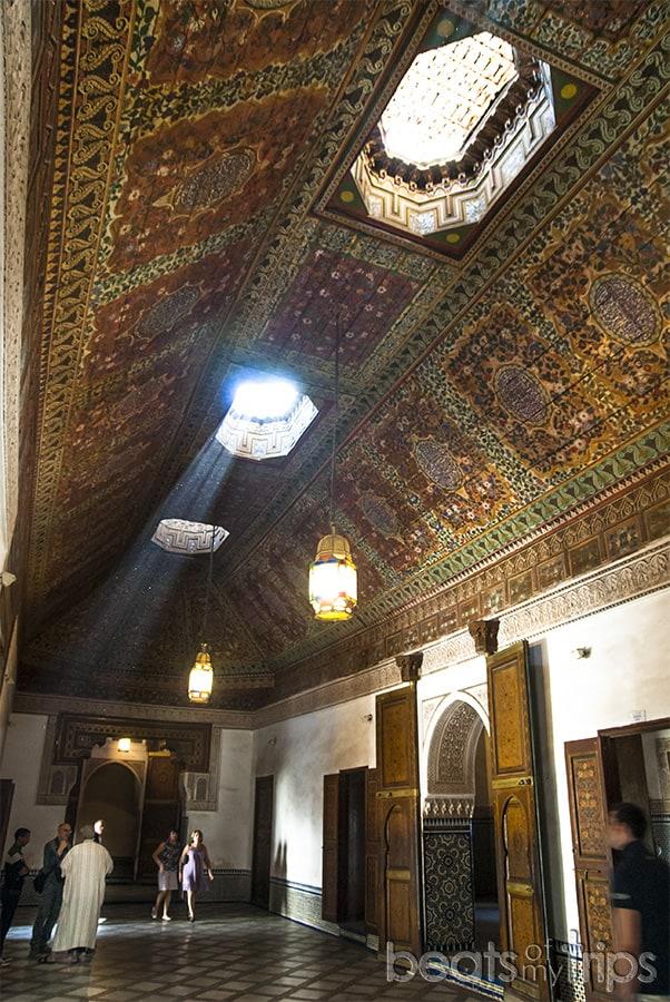 Palais Bahía Palacio de la bahia Marrakech que ver un dia escapada Marrakech