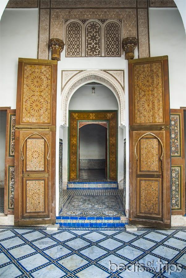 Palais Bahía Marrakech que ver un dia escapada Marrakech