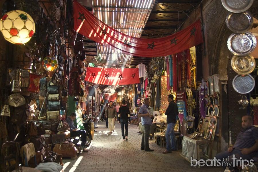 Zoco Marrakech mercado que ver un dia Marrakech escapada