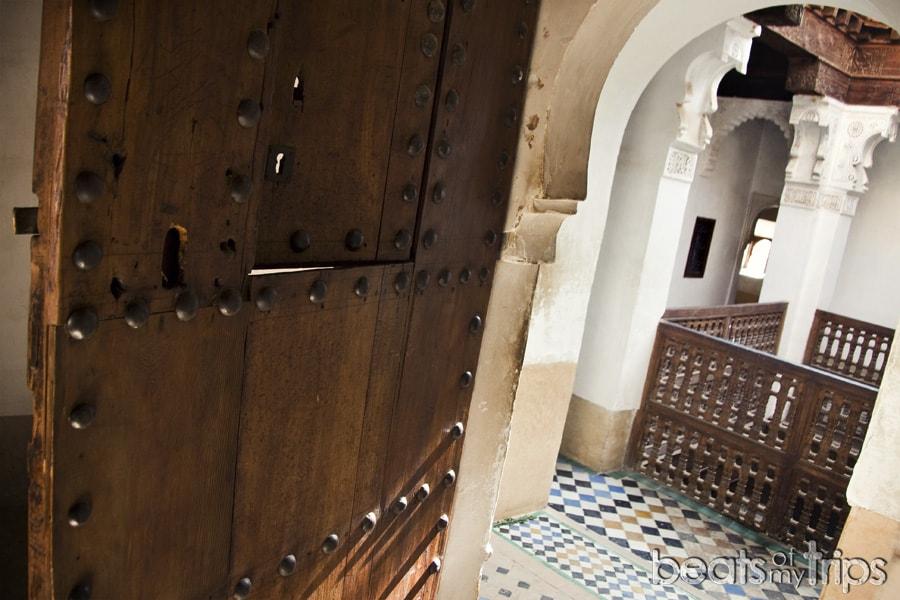 Marrakech Madraza madrasa Ali Ben Youssef que ver un dia escapada Marrakech