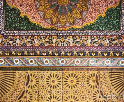 Palais Bahía mosaico zellig Marrakech que ver en un dia escapada Marrakech blog