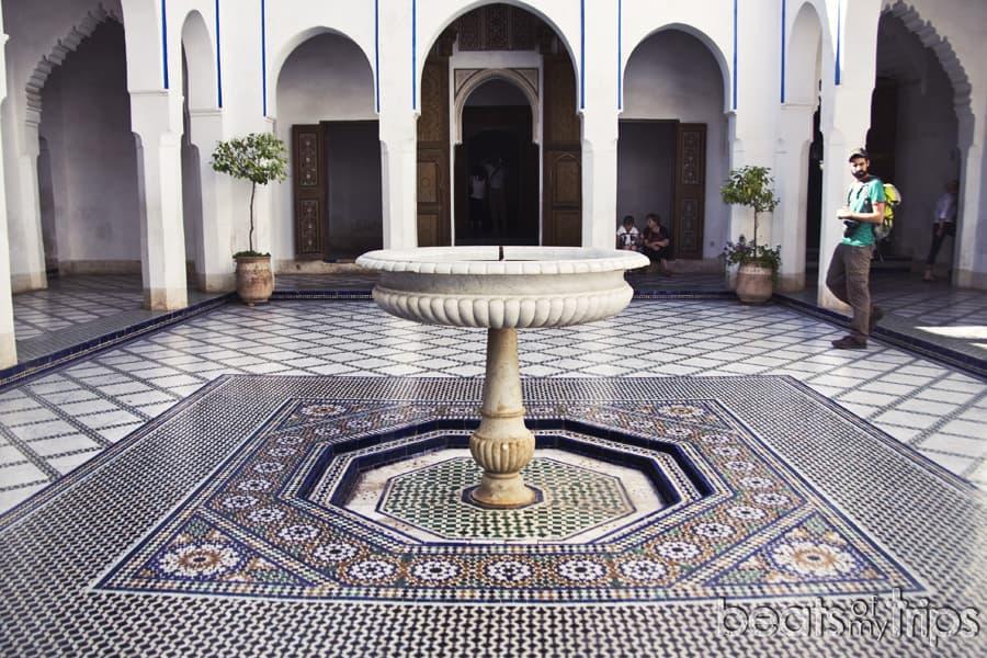 Palais Bahia Marrakech que ver en un dia escapada Marrakech blog