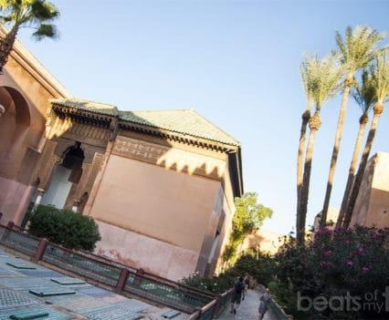Tumbas Saadies mausoleos al Mansour tres nichos Marrakech que ver escapada Marrakech