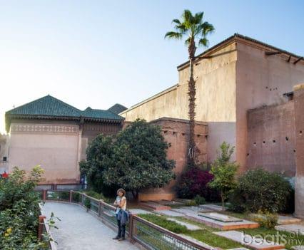 Tumbas Saadies jardines al Mansour tres nichos Marrakech que ver escapada Marrakech
