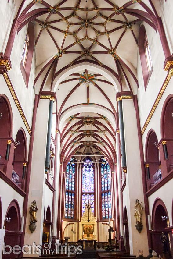 Viaje Coblenza que ver Iglesia Nuestra Señora Liebfrauenkirche turismo Alemania Koblenz barco río Rin desembocadura Mosela crucero