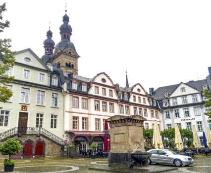 Que ver Coblenza Am Plan oaza casco historico turismo Alemania Koblenz barco río Rin desembocadura Mosela crucero