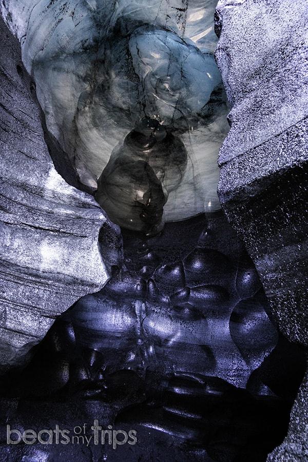 cueva hielo qué ver en Islandia viajar Islandia barato