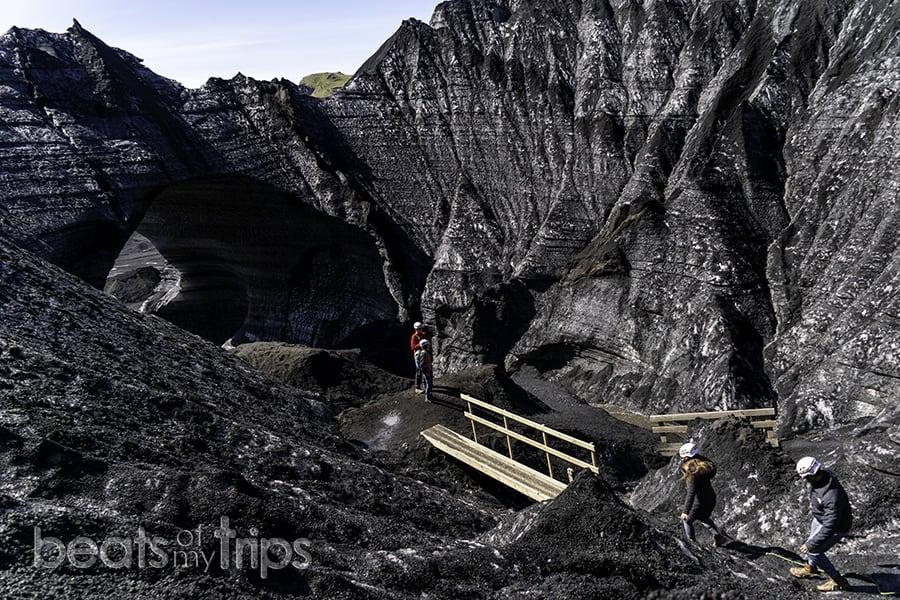 Katla cueva hielo Islandia verano excursión glaciar Myrdalsjokull