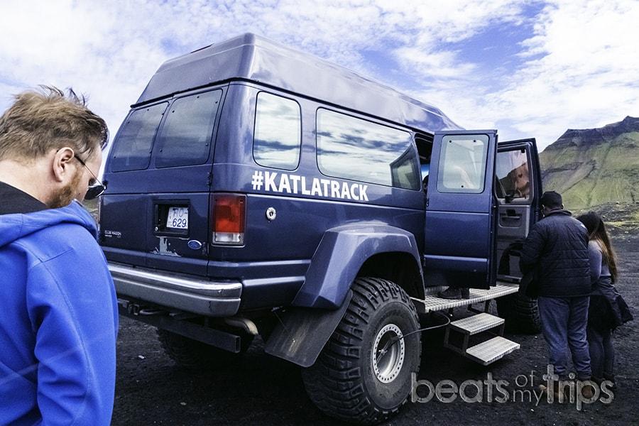super jeep excursión cueva hielo Katla Islandia verano