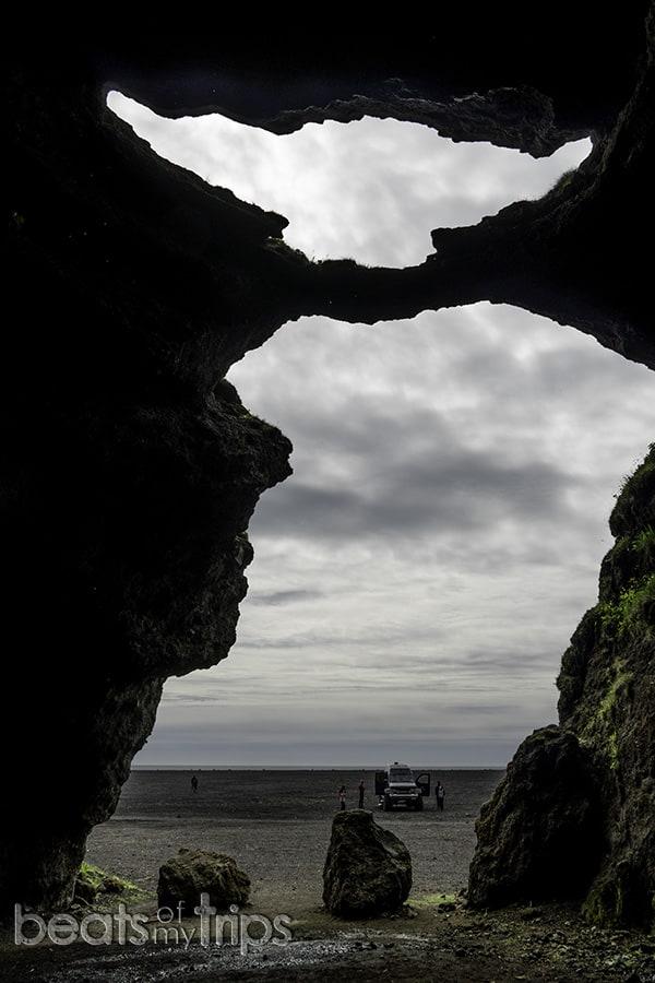 playa negra Vik Islandia sur excursion cueva hielo