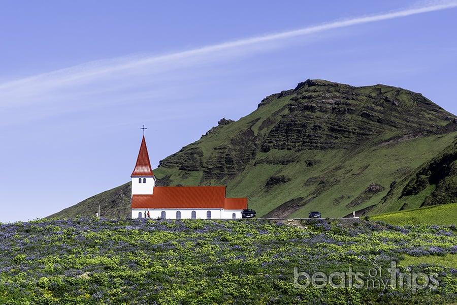 Vik Iglesia Islandia Ring Road R1 sur Islandia