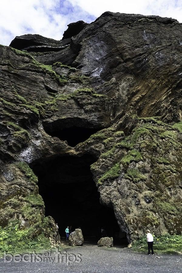 Hjörleifshöfði Cueva Vik sur Islandia qué ver