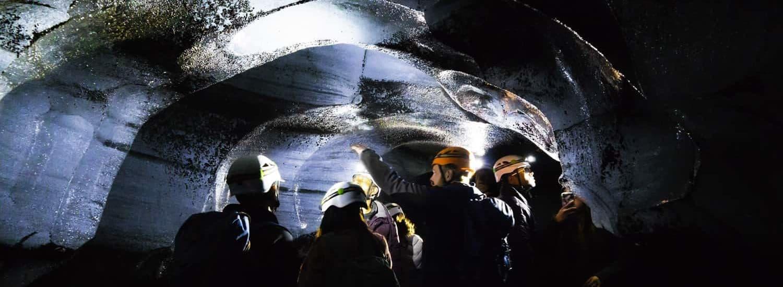 Katla cueva hielo Islandia verano excursión Myrdalsjokull