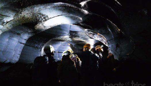 Descubriendo la única cueva de hielo natural de Islandia abierta en verano