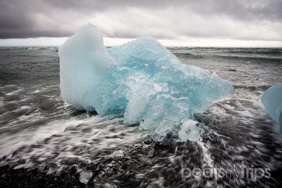 Diamond beach playa jokulsarlon Vatnajokull que ver en Islandia guia Islandia