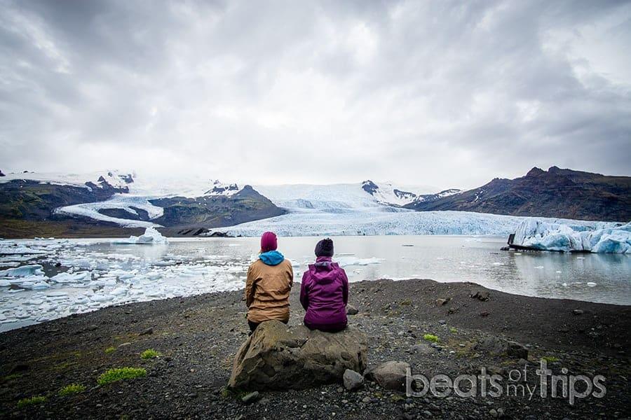 Laguna glaciar Fjallsarlon guia Islandia que ver Fjallsjökull glaciar Vatnajokull Iceland consejos
