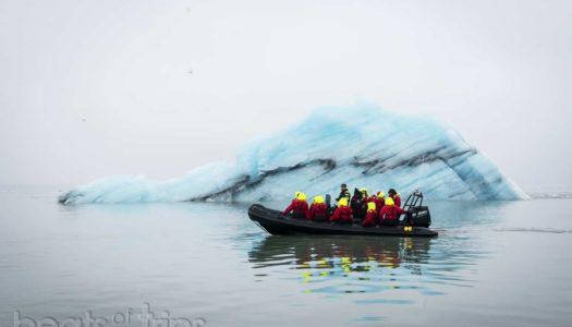 Islandia entre icebergs, en zodiac por Jökulsárlón!