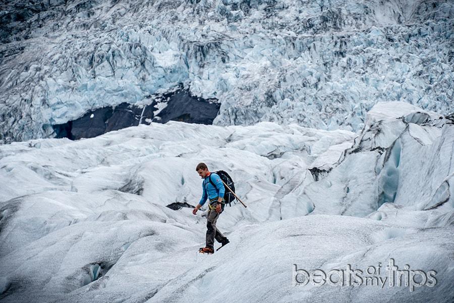 que ver islandia blog viajes trekking crampones excursion glaciar vatnajokull Falljokull Skaftafell