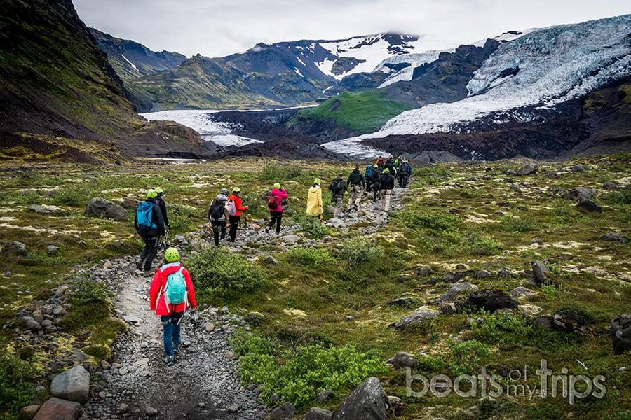 trekking crampones excursion glaciar Falljokull Skaftafell parque nacional vatnajokull guia islandia que ver