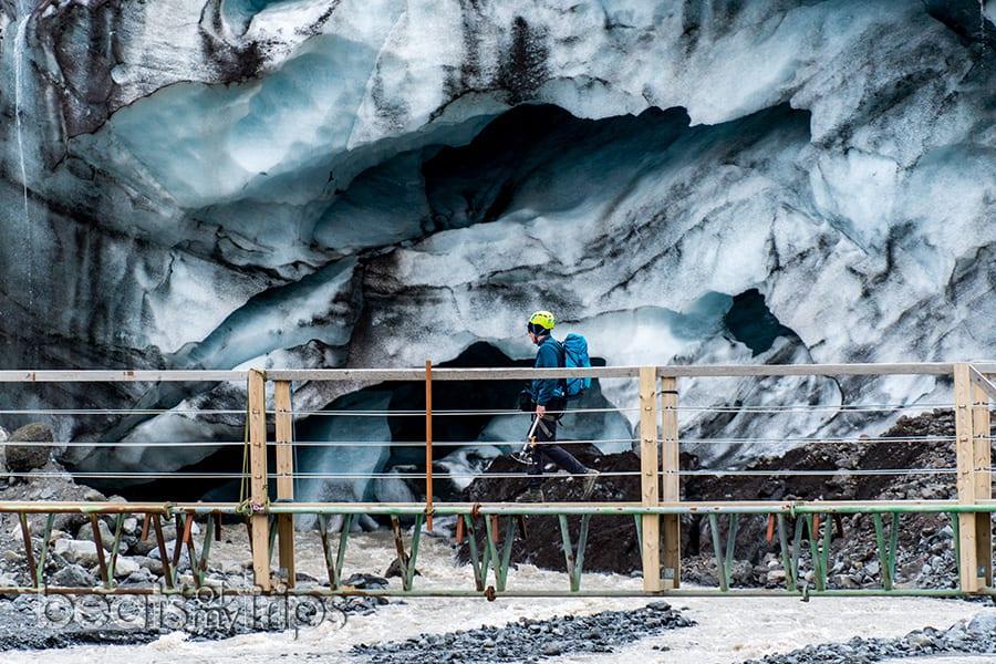 que ver islandia blog viajes trekking crampones excursion glaciar Falljokull Skaftafell parque nacional vatnajokull