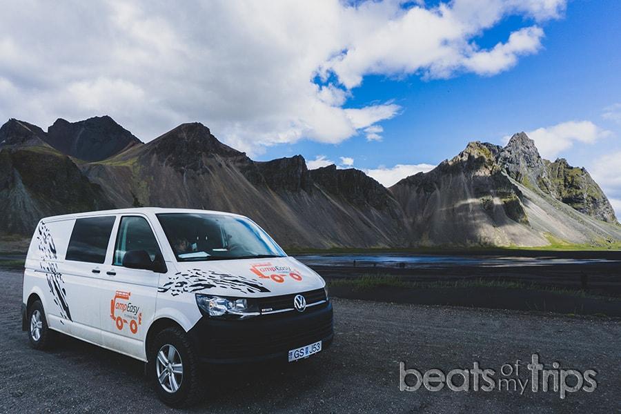 alquilar campervan autocaravana Islandia furgoneta camper viajar Islandia