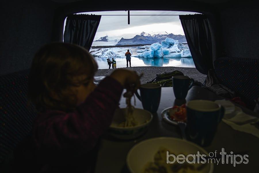 Jokulsarlon Islandia laguna glaciar donde dormir qué ver