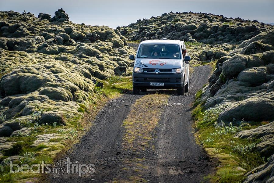 Autocaravana alquiler camper Islandia alquilar carreteras de Islandia