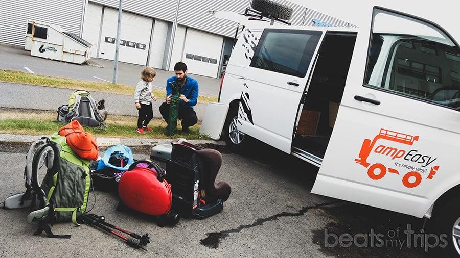 Alquilar campervan Islandia como viajar en camper por Islandia
