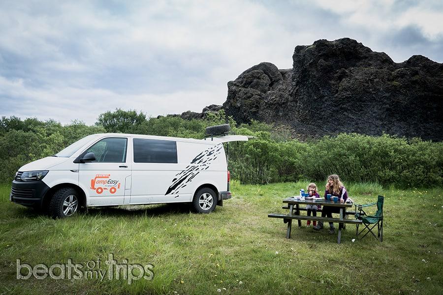 viajar con camper en Islandia temperaturas meses cuando es mejor viajar Islandia