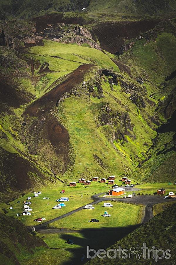 Camping Islandia ley acampada libre dónde acampar Islandia