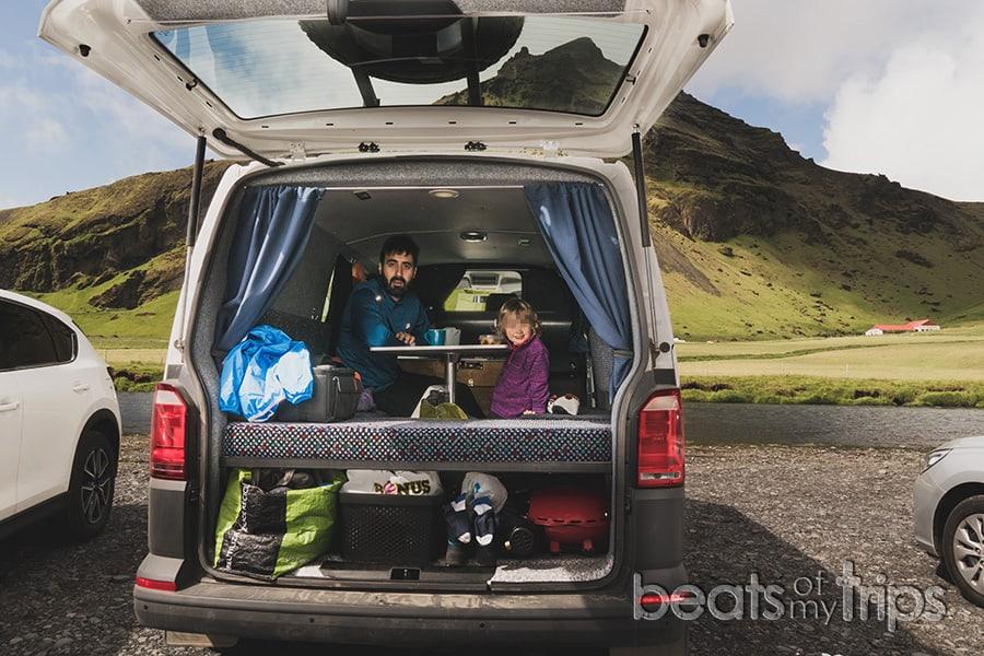 viajar camper Islandia campervan furgoneta autocaravana