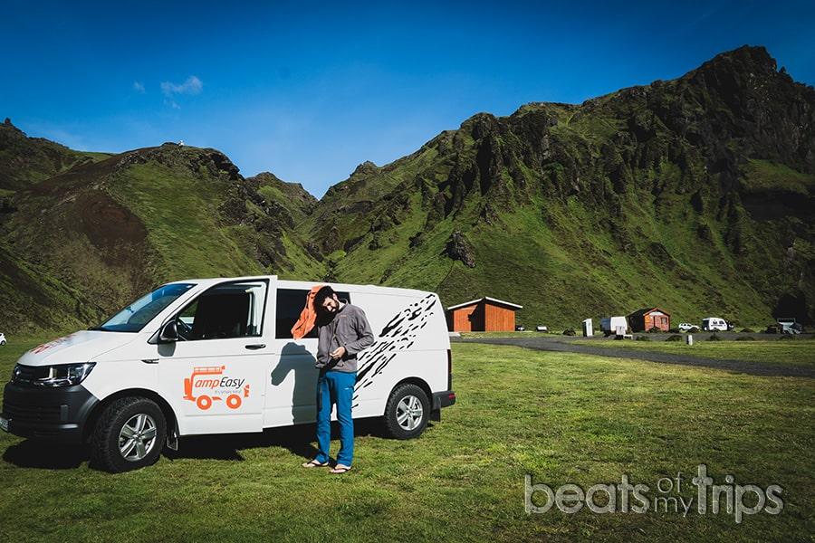 camping Islandia donde acampar aparcar viaje Islandia baños