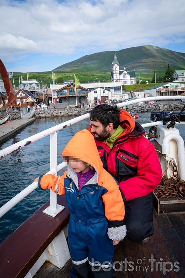 dónde ver ballenas Húsavík Islandia bahía Skjalfandi excursión barco ballenas