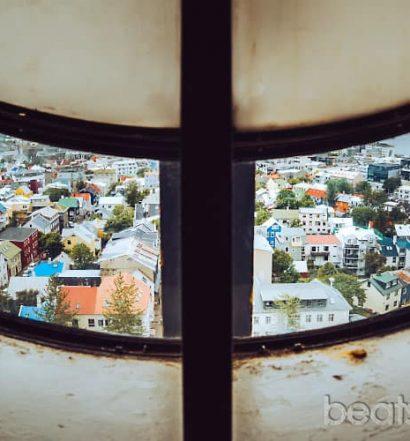 Mirador iglesia Hallgrímskirkja Que ver reykjavik Islandia blog viajes