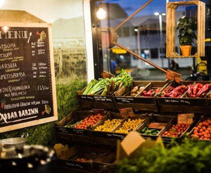 Comida Vegana Street Food Reikiavik Islandia Blog