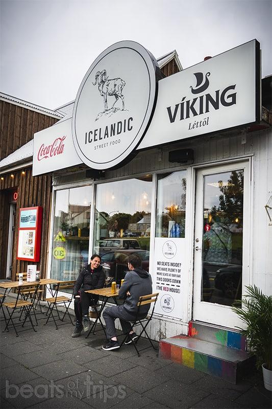 Restaurante barato Reikiavik Reykjavík street food Islandia blog