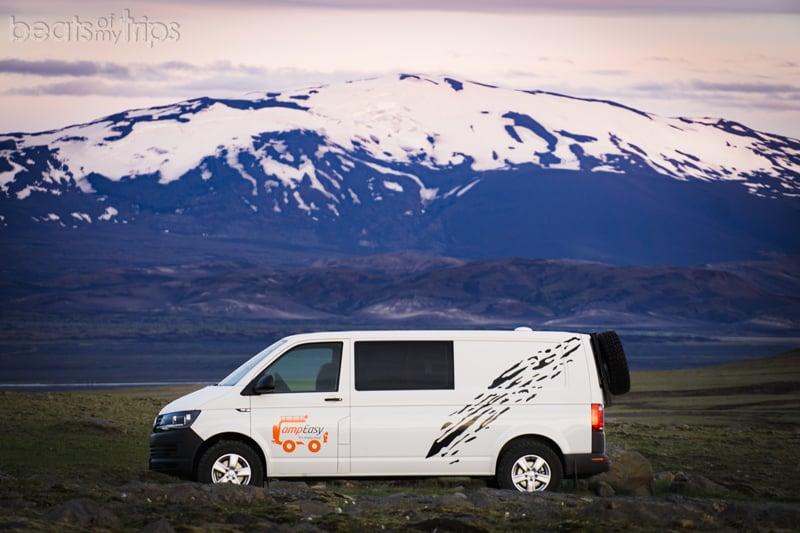 Camper Islandia Volcan Hekla