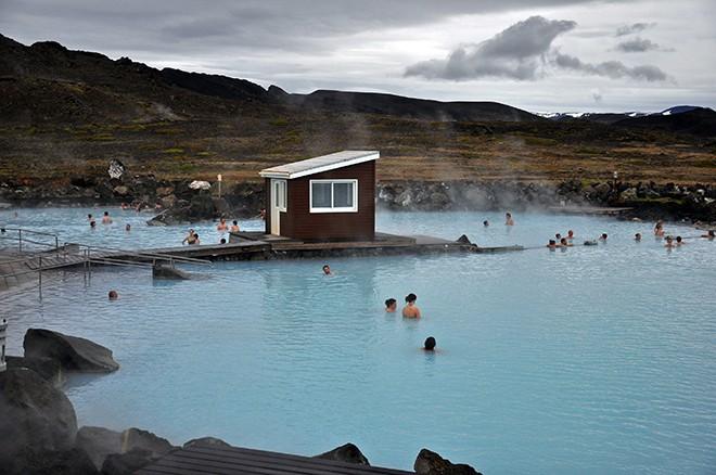 Baños termales lago Myvatn Nature Baths Jarðböðin Norte Islandia blog