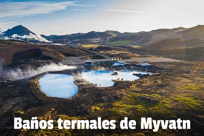 Baños termales Myvatn Nature Baths Jarðböðin piscina azul Norte Islandia