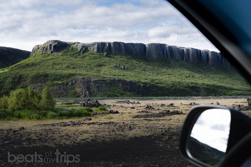 paisaje carretera 32 sur Islandia que ver
