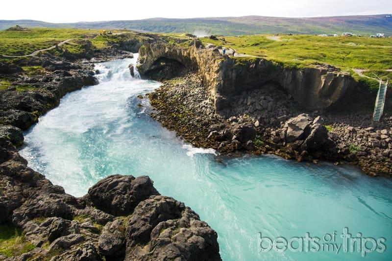 Significado Goðafoss Cascada de los dioses Islandia