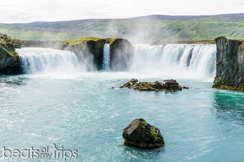 Cascada Godafoss Goðafoss viaje Islandia