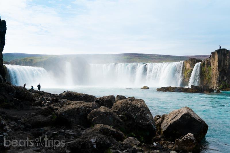 ver Cascada de los dioses Goðafoss Islandia