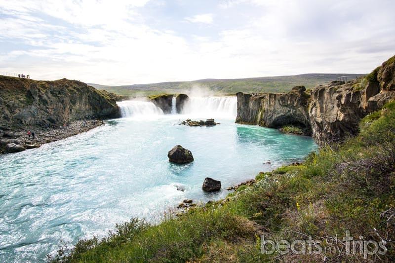 Cascada Goðafoss Islandia cascada de los dioses