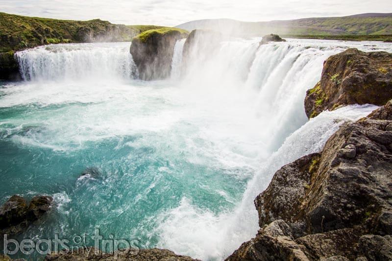 ver cascada Godafoss Goðafoss Islandia